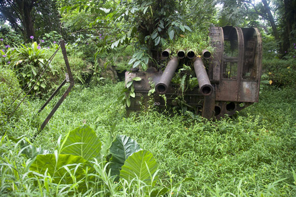 Picture of Anti-aircraft guns on Sokehs ridgeSokehs ridge - Federated States of Micronesia