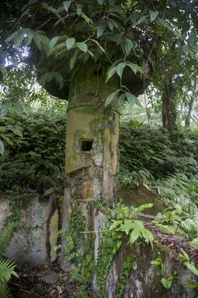 Picture of Lookout tower on top of Sokehs ridgeSokehs ridge - Federated States of Micronesia