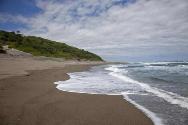 Picture of Sigatoka sand dunes (Fiji): The beach at the foot of the sand dunes