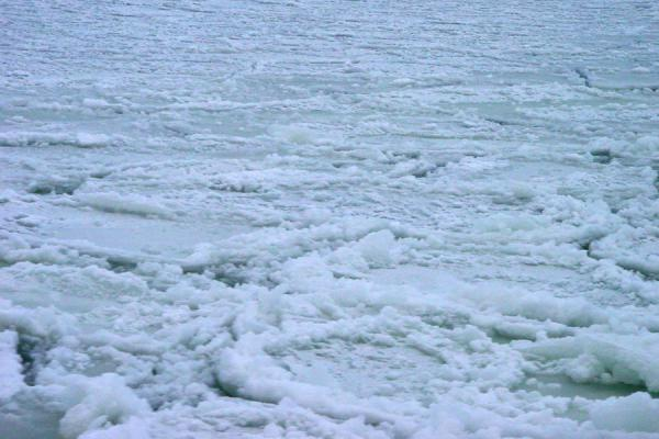 Picture of Helsinki Harbour Winter (Finland): Chunks of frozen sea in Helsinki Harbour