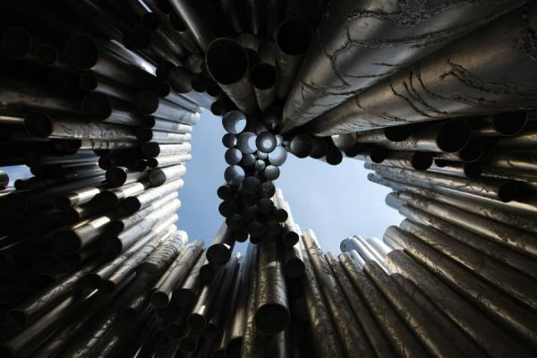 Looking up Sibelius Monument from below | Sibelius Monument | Finland