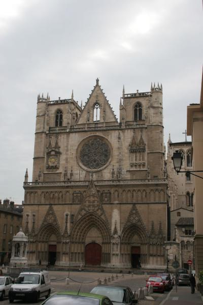 Cathedral of Saint Jean in the St. Jean district of Lyon | Ciudad Antigua de Lyon | Francia