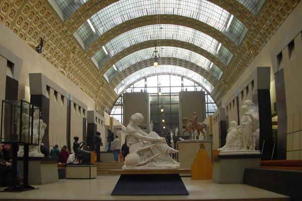 Overview of the museum on the ground floor | Musée d'Orsay | France