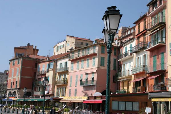 Picture of Villefranche sur Mer (France): Villefranche sur Mer: colourful houses on the waterfront