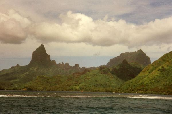 Picture of French Polynesia (Coastline in Tahiti)