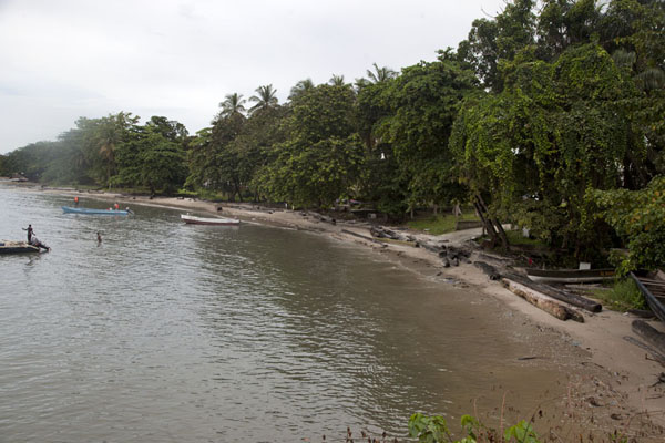 Picture of Gabon (View of the beach of Cap Esterias)