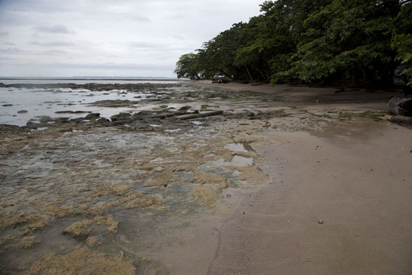 Rocky coast and beach at Cap Esterias | Cap Esterias | Gabon