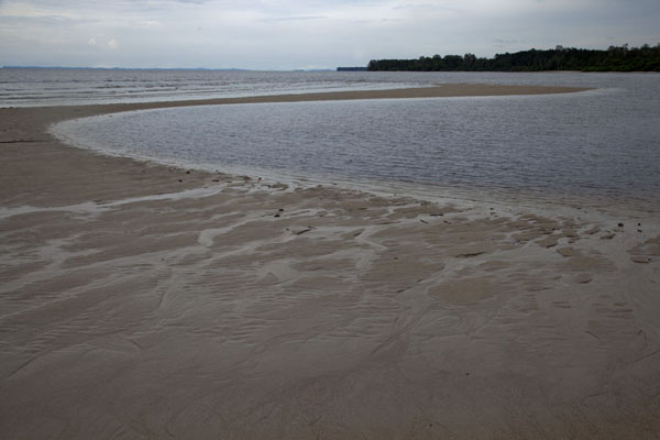 Picture of Cap Esterias (Gabon): Sand bank near Cap Esterias