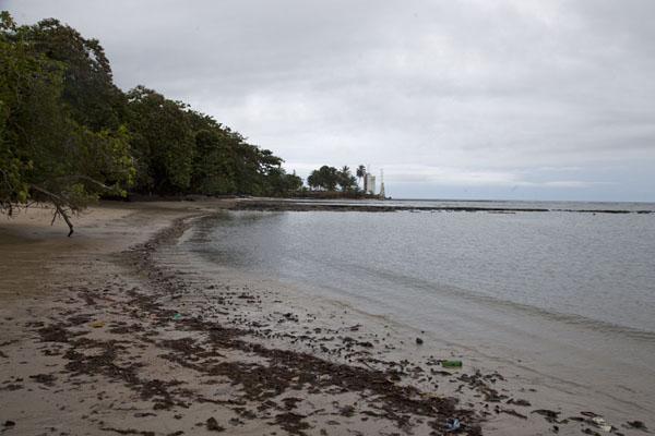 Picture of Cap Esterias (Gabon): Part of the beach at Cap Esterias