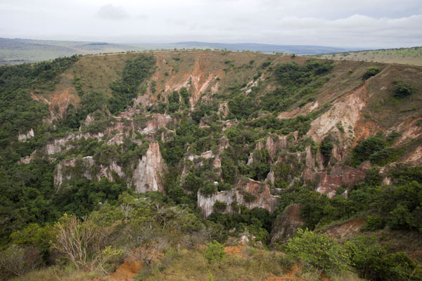The second, smaller, canyon of Léconi | Léconi canyon | Gabon