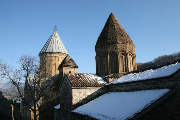 Picture of Ananuri castle (Georgia): Towers of Ananuri