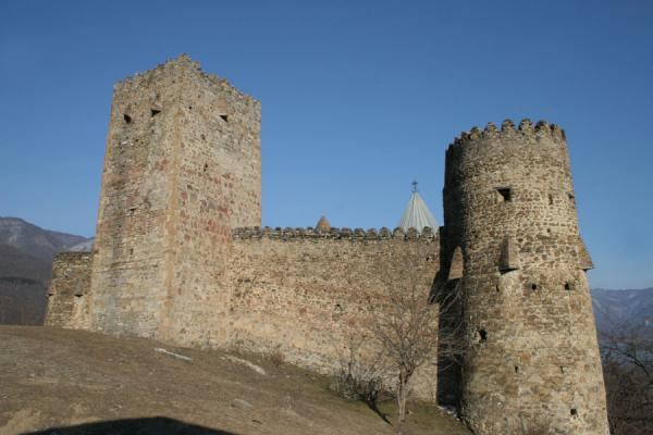 Picture of Ananuri fortress against a blue skyAnanuri - Georgia