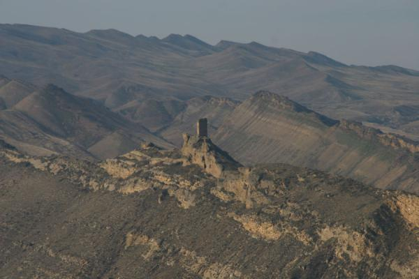 乔治亚 (Davit Gareja: watchtower on one of the ridges of the border)