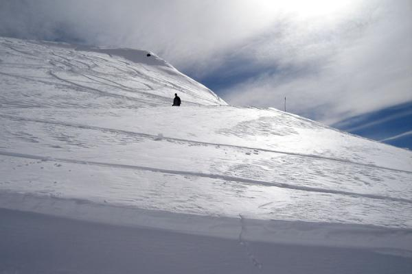 Picture of Gudauri Skiing (Georgia): The snow and ice-capped mountains of Gudauri