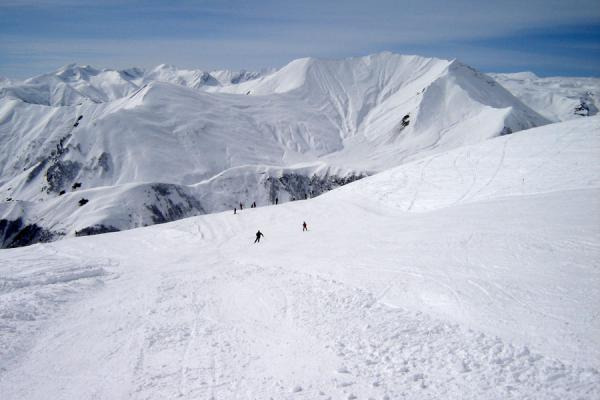 Picture of Gudauri Skiing (Georgia): Mountains around Gudauri