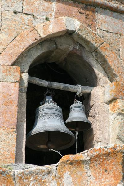 Picture of Mtatsminda Zamemba (Georgia): Mtatsminda Zamemba church: detail of bell tower from outside