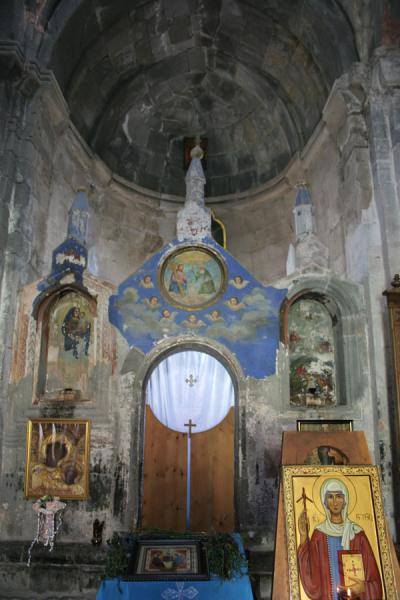 Picture of Mtatsminda Zamemba (Georgia): Mtatsminda Zamemba: interior of church