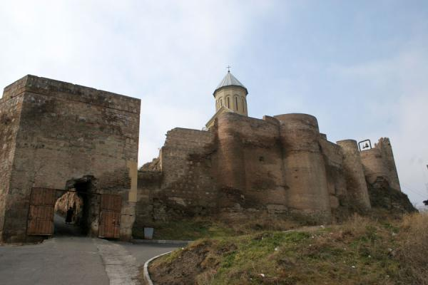 Picture of Narikala Fortress and gateTbilisi - Georgia
