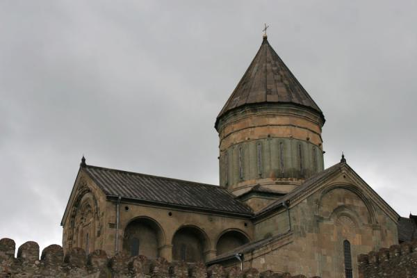 Picture of The main building of Sveti-Tshkoveli cathedralMtskheta - Georgia