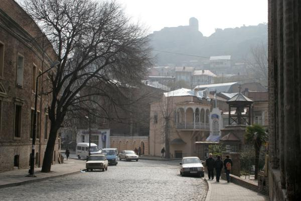 Foto di One of the streets of TbilisiTbilisi - Georgia