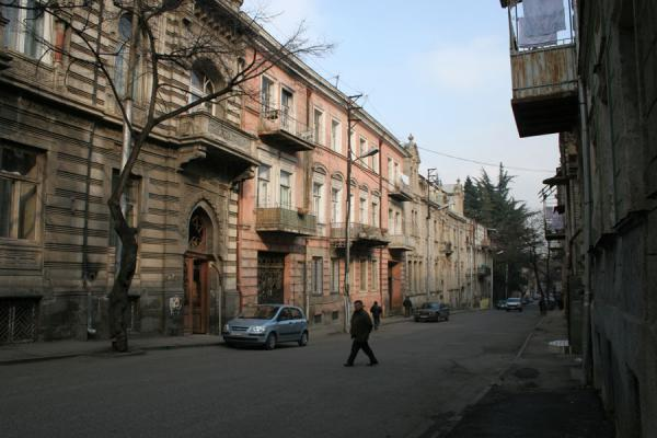Foto di Typical street in TbilisiTbilisi - Georgia