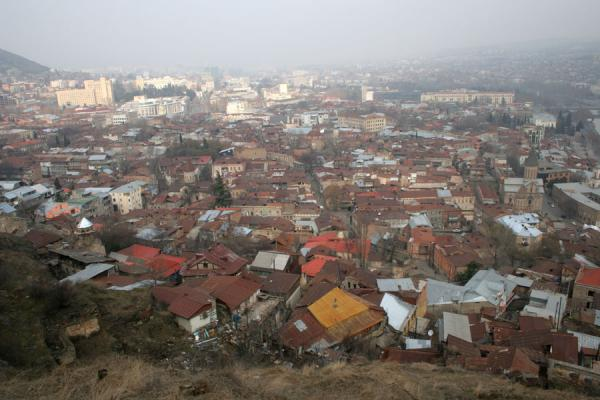 Picture of View over the Old Town from Narikala fortressTbilisi - Georgia