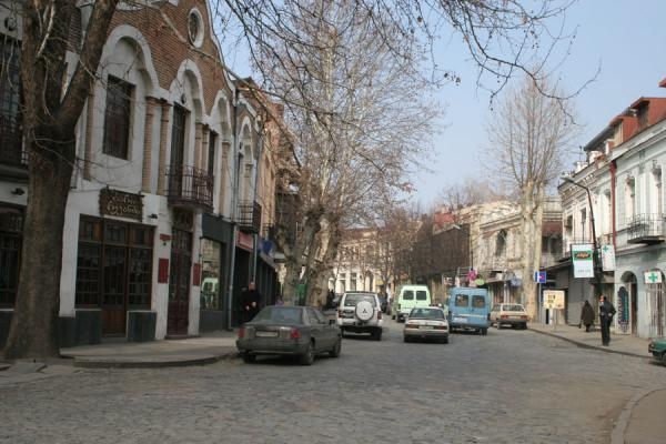 Typical street in Tbilisi | Tbilisi streets | Georgia