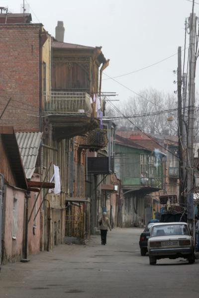 Picture of Quiet street in old part of TbilisiTbilisi - Georgia