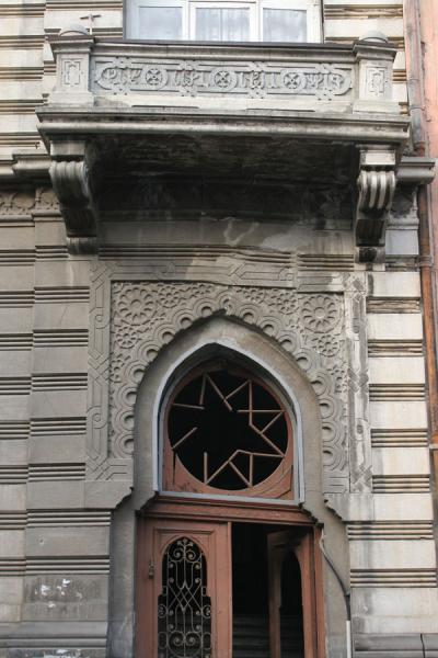 Picture of Old door in Old Town of TbilisiTbilisi - Georgia