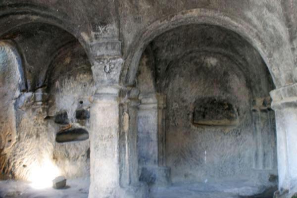 Picture of Uplistsikhe (Georgia): Uplistsikhe: inside of caves