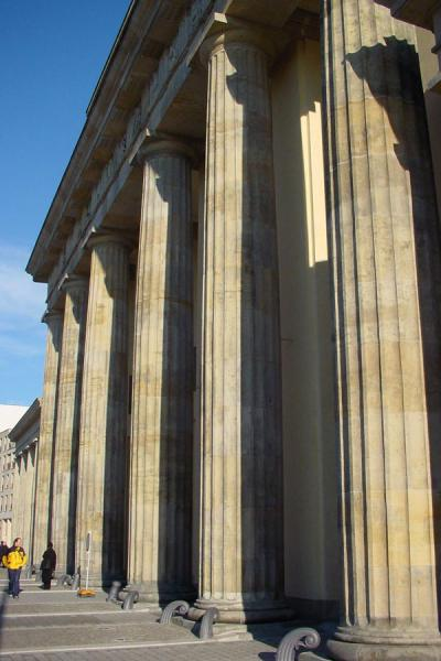 Picture of Brandenburger Gate from Western side - Berlin