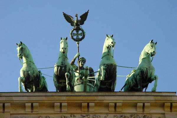 The Quadriga on top of the Brandenburger Tor | Brandenburger Tor | Germany