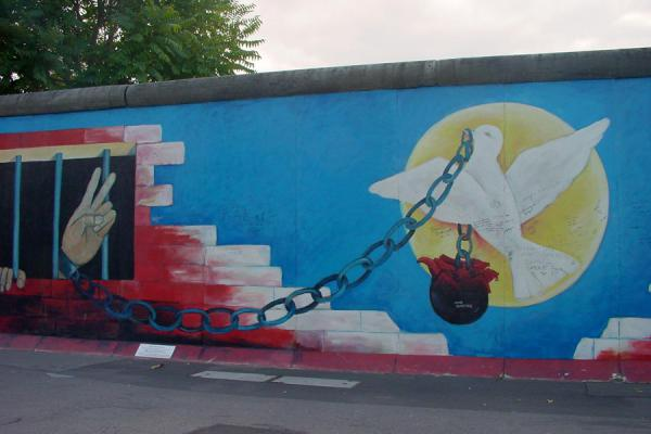 So symbolic that no explanation is required | East Side Gallery | Germany
