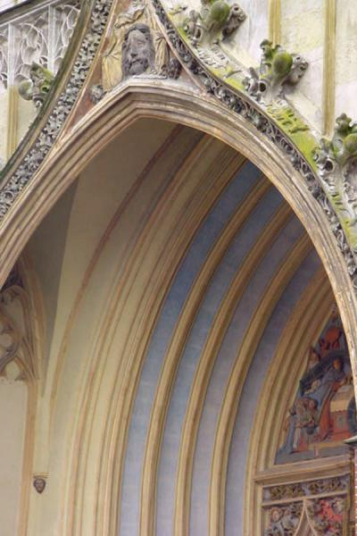 Picture of Detail of church in Landshut