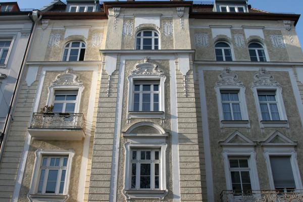 Elegant building in Munich | Munich architecture | Germany