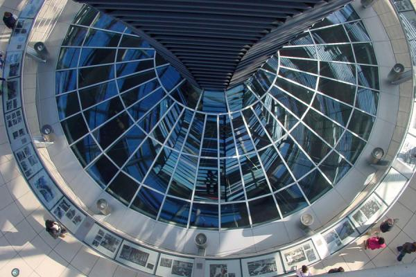 View from above | Reichstag | Germany