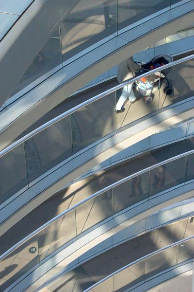 Picture of Going down Reichstag building, Berlin