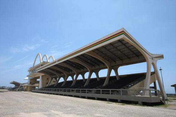 Grandstand on Independence Square at the oceanside | Independence Square | Ghana