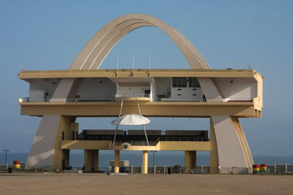 Picture of Independence Square (Ghana): Building at southside of Independence Square