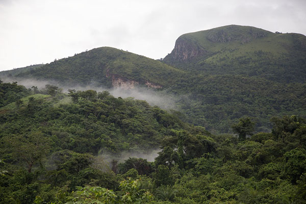 Foto van View of the Avatime hills from belowAvatime - Ghana