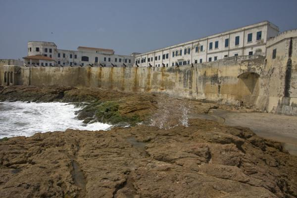 View of Cape Coast castle from the east | Cape Coast castle | Ghana