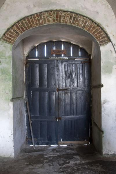 Door of no return: slaves passed through this door to be exported | Cape Coast castle | Ghana