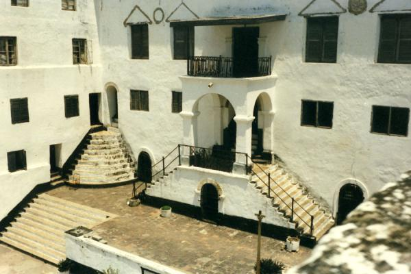 Picture of Elmina slave castle (Ghana): Elmina fortress
