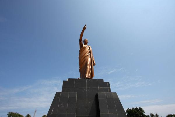 Foto de Ghana (Bronze statue of Kwame Nkrumah)