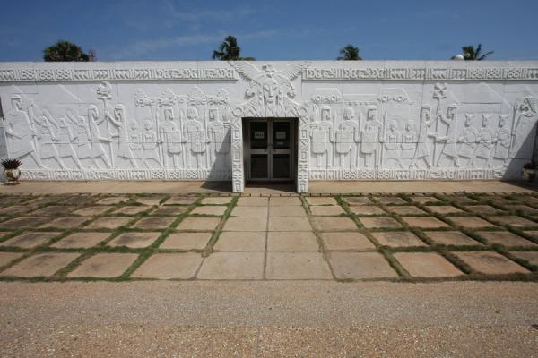 Picture of Small museum behind the Mausoleum of Kwame Nkrumah