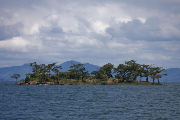One of the small  islands in Lake Volta | Lake Volta Cruise | Ghana