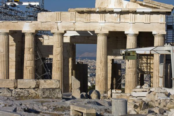 Frontal view of the Parthenon | Acropolis | Greece