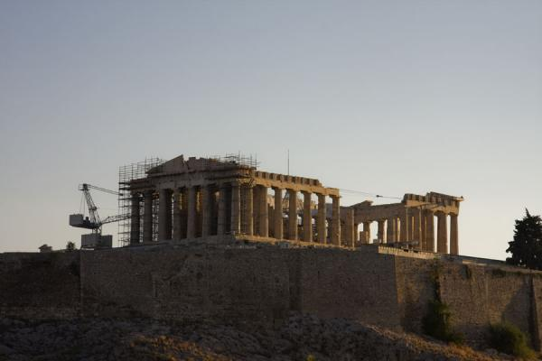 Foto van Sunrise over the ParthenonAthene - Griekenland