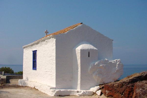 One of the small churches on the island | Hydra | Grèce