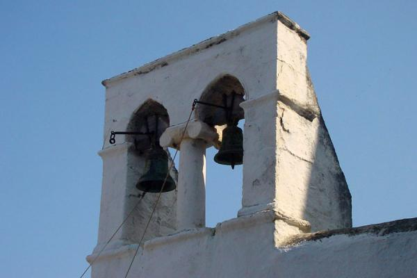Foto de Detail of one of the churches on the islandHydra - Grecia